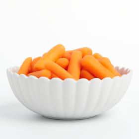 优选新品|枝纯水果胡萝卜零食128g*6袋 非转基因新鲜迷你小手指胡萝卜 第二件加赠2袋