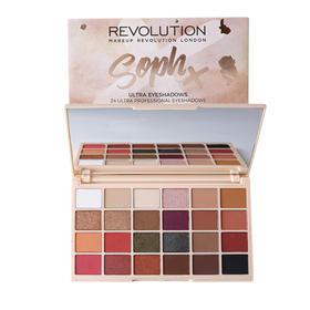 英国Makeup Revolution SophX合作限量款24色眼影盘 26.4g