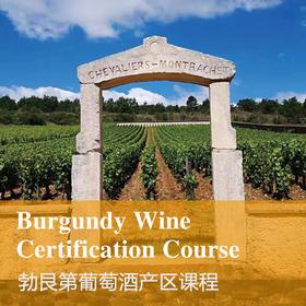 【上海】勃艮第葡萄酒产区课程