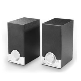 漫步者(EDIFIER) R18T 2.0声道 木质多媒体音箱 黑色