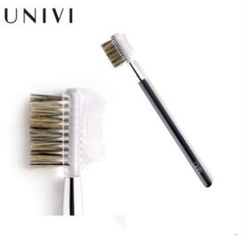 尤维UNIVI眉刷带眉梳化妆刷