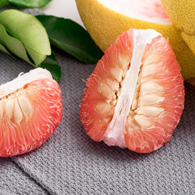 优选 | 江西广丰马家柚  果肉鲜嫩  出汁率52.7%   色泽浅红  香甜可口 两个装5至6斤左右 【买两份减5元】