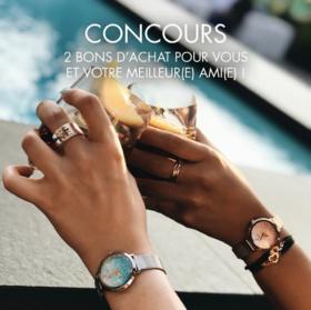 【50年历史的法国腕表品牌】PIERRE LANNIER 施华洛世奇星钻系列女士腕表