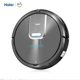 海尔(Haier)智能湿拖扫地机器人家用全自动扫拖一体机无线吸尘器吸300毫升水箱T535H