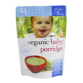 澳大利亚Bellamy's贝拉米燕麦谷物有机米粉125g(5个月以上)