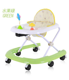 婴儿学步车6-18个月防侧翻可折叠宝宝幼儿童助步车