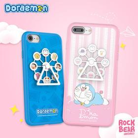 哆啦A梦 蓝色/粉色摩天轮保护手机壳