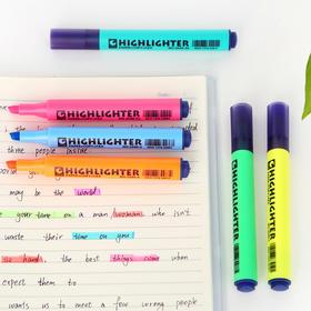 彩色记号荧光笔糖果色学生用 粗划重点标记划线笔 男女生文具办公