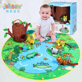 Jollybaby  宝宝游戏爬行毯