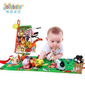 Jollbaby  儿童早教立体布书
