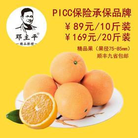 【二等奖】邓主平精品脐橙10斤装 顺丰九省包邮 75-85mm 精品果