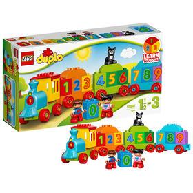 LEGO乐高 玩具 得宝DUPLO 1.5岁-3岁 数字火车 10847