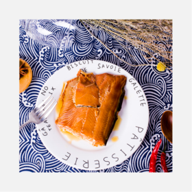 烟熏野生太平洋三文鱼 | 北美工艺清香嫩滑 | 袋装【严选X生鲜熟食】