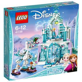 LEGO乐高 玩具 迪士尼 Disney Princess 6岁-12岁 艾莎的魔法冰雪城堡 41148