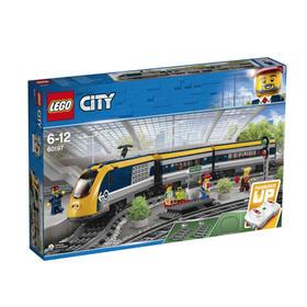 LEGO乐高 玩具 城市组 City 6岁-12岁 客运火车 60197