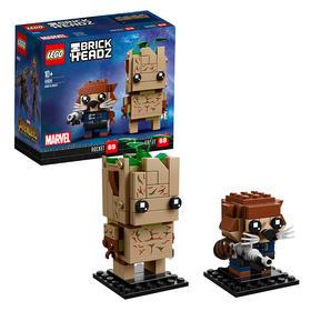 LEGO 乐高方头仔 格鲁特与火箭浣熊 41626