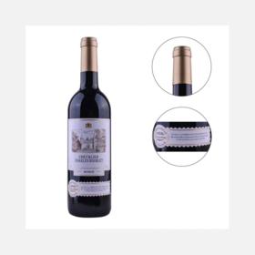 法国查尔斯杜本骑士干红葡萄酒 | 口味甘醇法式优雅典藏 |750ml*6瓶【严选X乳品茶饮】