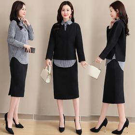 长袖时尚潮流休闲舒适纯色套装 CS-XBL913