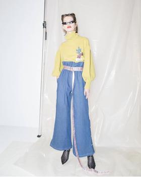 Greta Boldini  短款刺绣毛衣