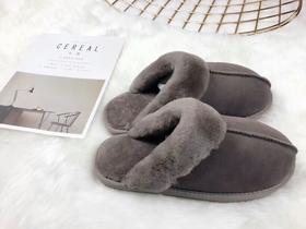 澳洲羊皮毛一体 | 保暖包头拖鞋 | 居家拖鞋