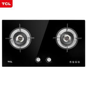 TCL JZT-5401B黑色钢化玻璃4.2KW强火力 燃气灶(天然气)