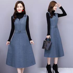 中长款长袖时尚潮流休闲优雅韩版百搭甜美套装 CQ-YSJ8139