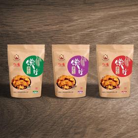 【馋嘴零食】二阳馍片三袋装丨香辣丨五香