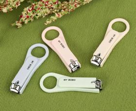 简约款圆环不锈钢安全指甲刀精包装指甲剪-864492