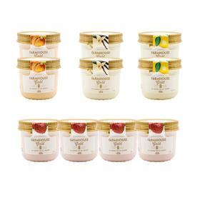 【仅限闪购10杯包邮】金盖慕斯酸奶4种口味混装150G/杯 10杯