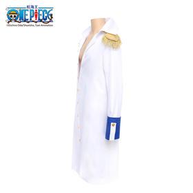 腾讯动漫官方 航海王ONE PECIE海军大将cosplay套装海贼王 披风换装袖口