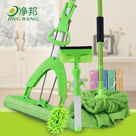 胶棉拖布 多功能擦窗器清洁大组合清洁套装家庭卫生抹布-864548