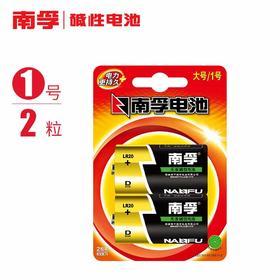 南孚电池1号电池2粒大号一号碱性燃气灶热水器干电池手电筒电池煤-864655