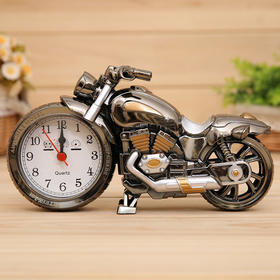 PF168A摩托车闹钟乌金双色 个性闹钟  百货闹钟创意家居礼品-864583
