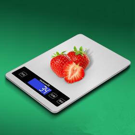 家用厨房秤烘焙秤食物称1g茶叶克秤精准电子称10kg-864737