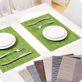 简约隔热垫欧式餐垫创意防水防滑西餐垫防烫碗垫子餐桌垫-864671