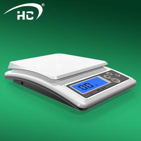 电子秤厨房烘焙家用精准食物克称0.1g 中药称高精度珠宝秤-864742