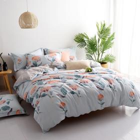 全棉13372活性印花时尚床单四件套