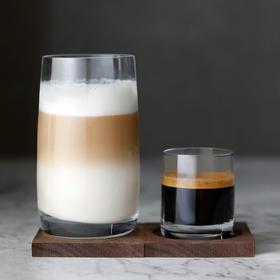 心想甄选 进口水晶玻璃杯 浓缩杯/拿铁杯/果汁杯