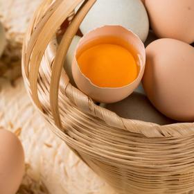 皖北树下正宗散养土鸡蛋 无饲料添加剂 营养健康 蛋清粘稠蛋黄饱满 30枚包邮