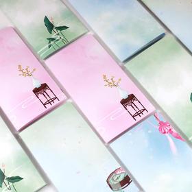 古意古风本子车线本 TN手帐本内芯替芯笔记本文具 中国风复古创意