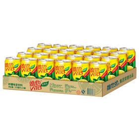 维他柠檬茶罐装饮料310ml24罐整箱
