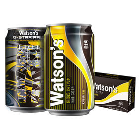 Watson's屈臣氏苏打汽水330ml24罐箱苏打气泡水整箱