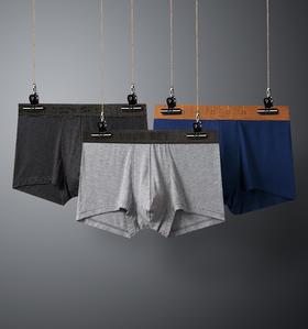 凸然嵌入式兜提网男士内裤一片式无侧缝设计贴体弹力腰边