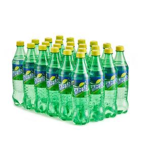 雪碧清爽柠檬味汽水500ml24瓶整箱 饮料
