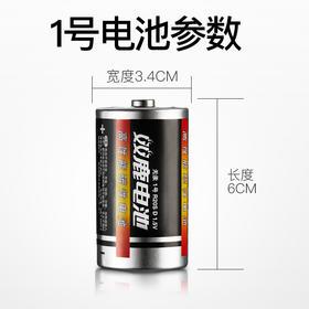 双鹿1号电池一号电池大电池一号热水器电池燃气电池煤气灶干电池