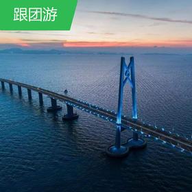 【珠海】珠江长隆/魅力香港车游珠港澳大桥高铁纯玩4日游