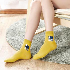 会呼吸的 DAPU 大朴羊毛袜、棉袜(3双装)!保暖、高颜值全占了,连睡觉都不舍得脱!