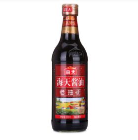 海天 老抽王酱油 500ml