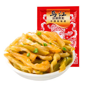 乌江涪陵清爽榨菜鲜脆菜丝80g酱菜泡菜下饭菜咸菜小菜早餐配粥