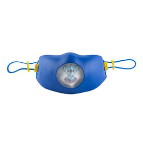 韩国原产Hoooah防雾霾口罩防护面罩儿童款2-5岁蓝色  黄色
